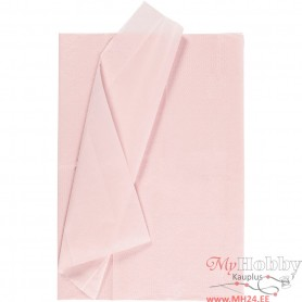 Tissue Paper, light punane, 50x70 cm, 17 g, 6 sheet/ 1 pakk