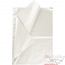 Tissue Paper, mother-of-pearl, 50x70 cm, 17 g, 25 sheet/ 1 pakk