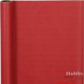 Wrapping Paper, red, W: 50 cm, 60 g, 5 m/ 1 roll
