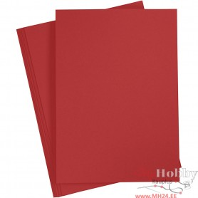 Paper, red, A4, 210x297 mm, 80 g, 20 pc/ 1 pack