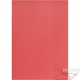 Vellum paper, red, A4, 210x297 mm, 100 g, 10 sheet/ 1 pack