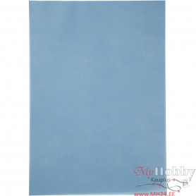 Vellum paper, blue, A4, 210x297 mm, 100 g, 10 sheet/ 1 pack