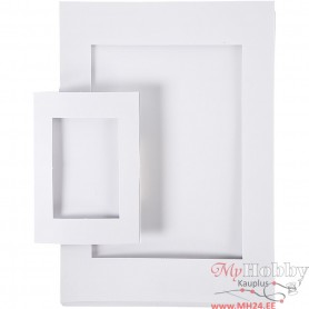 Picture Mount, white, size A4+A6 , 230 g, 2x60 pc/ 1 pack