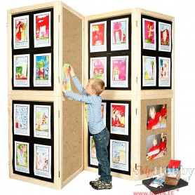 Wall Display Kit, H: 192 cm, W: 288 cm, 1 set