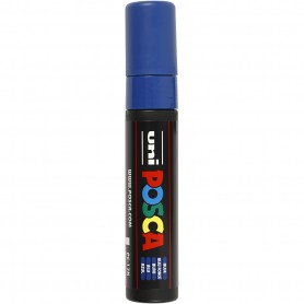 Posca Marker, blue, no. PC-17K, line 15 mm, extra broad, 1 pc