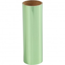 Deco Foil, green, W: 15,5 cm, 50 cm/ 1 roll