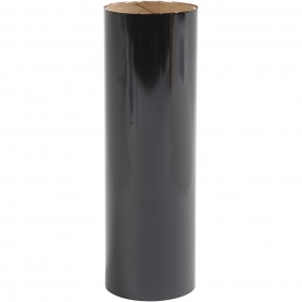 Deco Foil, black, W: 15,5 cm, 50 cm/ 1 roll