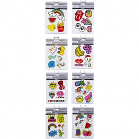 Soft Stickers, 12,2x17,75 cm, 8x10 sheet/ 1 pack