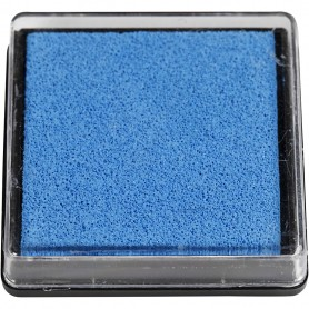 Ink Pad, light blue, size 40x40 mm, 1 pc