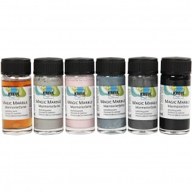 Magic Marble , douche colours, 6x20 ml/ 1 pack
