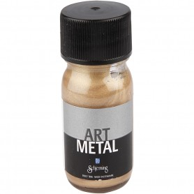 Art Metalic Paint, dark gold, 30 ml/ 1 bottle