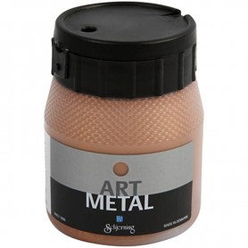 Art Metalic Paint, copper, 250 ml/ 1 bottle