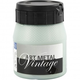 Art Metalic Paint, pearl green, 250 ml/ 1 bottle