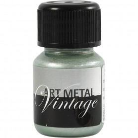 Art Metalic Paint, pearl green, 30 ml/ 1 bottle