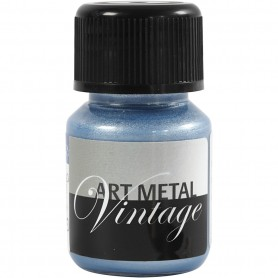 Art Metalic Paint, pearl sinine, 30 ml/ 1 bottle