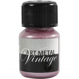 Art Metalic Paint, pearl punane, 30 ml/ 1 bottle