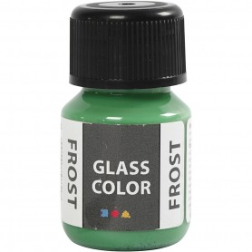 Glass Color Frost, green, 30 ml/ 1 bottle