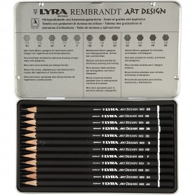 Art Design Drawing Pencils, 12 pc/ 1 pack