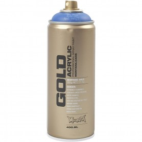 Spray paint, blue, 400 ml/ 1 tub