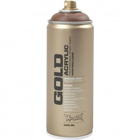 Spray paint, brown, 400 ml/ 1 tub