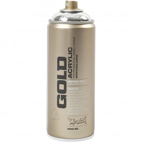 Spray paint, silver, 400 ml/ 1 tub