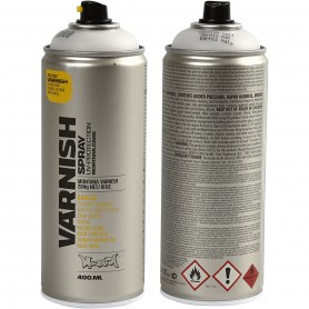Spray Lacquer, matt, 400 ml/ 1 tub