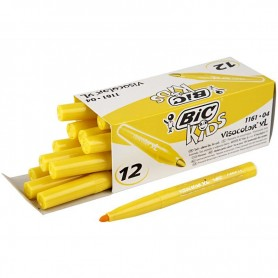Visa Color Marker, yellow, line 3 mm, 12 pc/ 1 pack