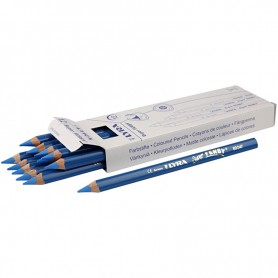 Super Ferby 1 colouring pencils, blue, L: 18 cm, lead 6.25 mm, 12 pc/ 1 pack