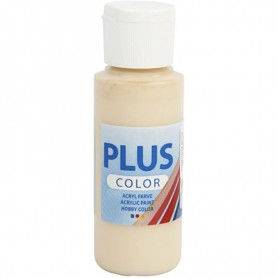 Plus Color Craft Paint, ivory beige, 60 ml/ 1 bottle