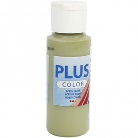Plus Color Craft Paint, eucalyptus, 60 ml/ 1 bottle