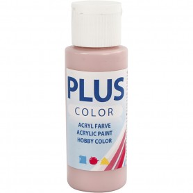 Plus Color Craft Paint, dusty rose, 60 ml/ 1 bottle