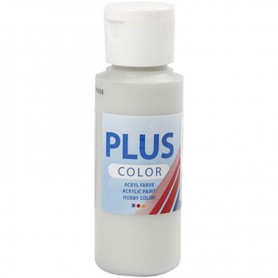 Plus Color Craft Paint, light grey, 60 ml/ 1 bottle