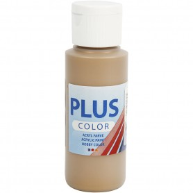 Plus Color Craft Paint, antique gold, 60 ml/ 1 bottle