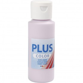Plus Color Craft Paint, pale lilac, 60 ml/ 1 bottle