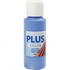Plus Color Craft Paint, cobolt sinine, 60 ml/ 1 bottle