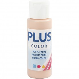 Plus Color Craft Paint, peach, 60 ml/ 1 bottle