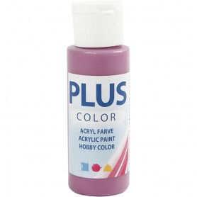 Plus Color Craft Paint, red plum, 60 ml/ 1 bottle