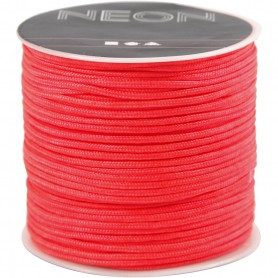 Polyester Cord, salmon, thickness 1 mm, 28 m/ 1 rull