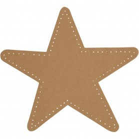 Star, natural, D: 17 cm, 350 g, 4 pc/ 1 pack