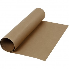 Faux Leather Paper, dark brown, W: 50 cm, one coloured, 350 g, 1 m/ 1 roll