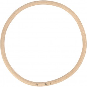 Bamboo ring, D: 15,3 cm, 1 pc