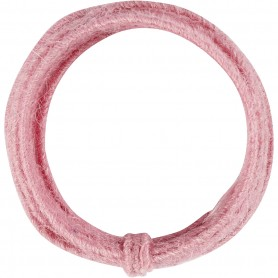 Jute wire, pink, thickness 2-4 mm, 3 m/ 1 pack