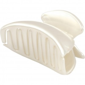 Hair Claw, mother-of-pearl, L: 90 mm, W: 45 mm, 1 tk