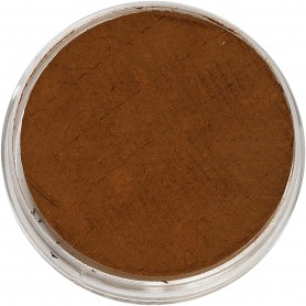 Water-based Face Paint, brown, 3,5 ml/ 1 pack