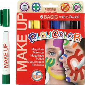 Playcolor Make Up, assorted colours, 6x5 g/ 1 pakk
