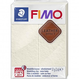 FIMO® Leather Effect , Ivory (029), 57 g/ 1 pack