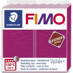 FIMO® Leather Effect , berry (229), 57 g/ 1 pack