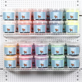 Foam Clay®, assorted colours, 10x10 buckets/ 1 pack