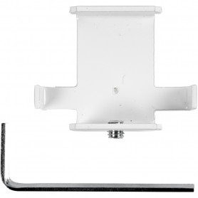 Assembly Kit, white, T-shape, H: 55 mm, depth 20 cm, W: 45 mm, 1 pc