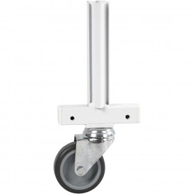 Wheeled Frame, white, H: 280 mm, depth 50 cm, W: 120 mm, 1 pc
